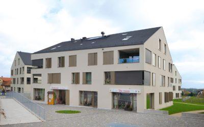 Un nouveau centre à Borex, ou la densification au village