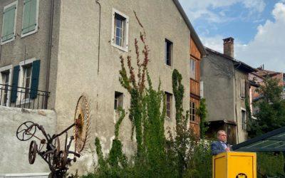Aigle, inauguration du quartier – Le Clos du Bourg